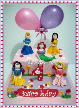 Princess Disney Cake For Syifa Kue Ulang Tahun Birthday