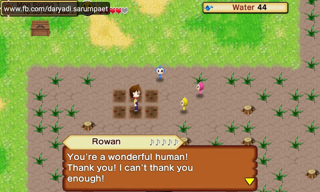harvest moon seeds of memories android game cutscene dialog sprites