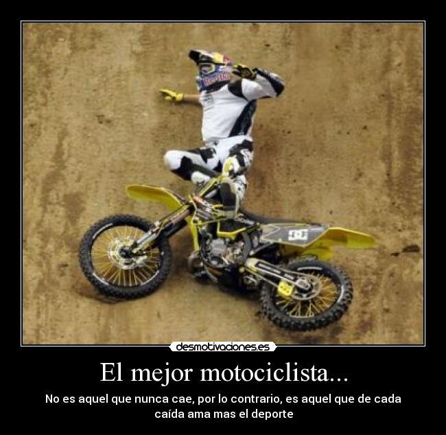 frases de motocross