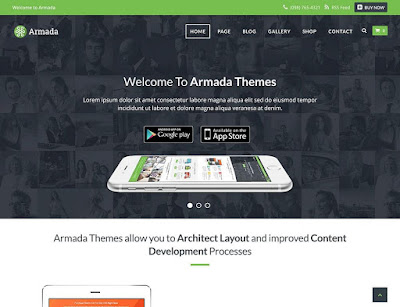 Armada Marketing WordPress Theme