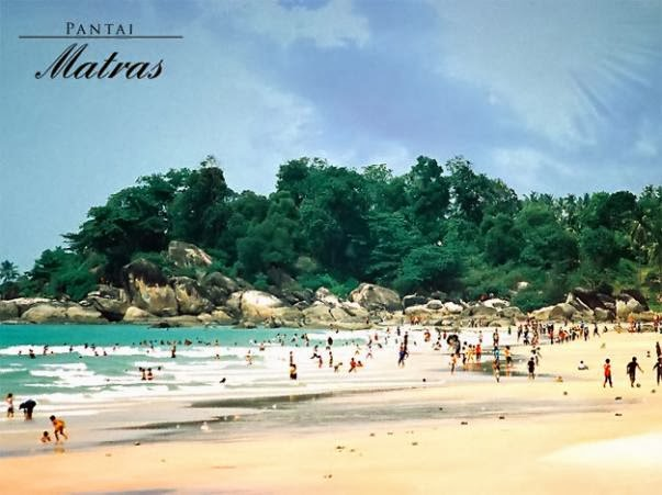 Love Bridge Matras : Matras beach pangkalpinang indonesia tourism board