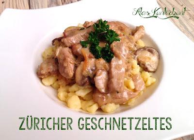 Slow Cooker Crockpot Züricher Geschnetzeltes