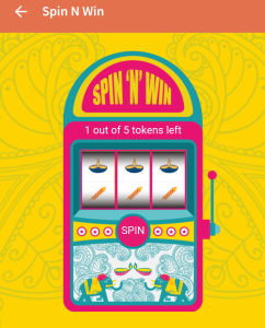 freecharge spin and win