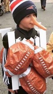 Tom Brady Deflategate Football costume