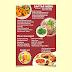 Template Brosur Dan Menu Makanan