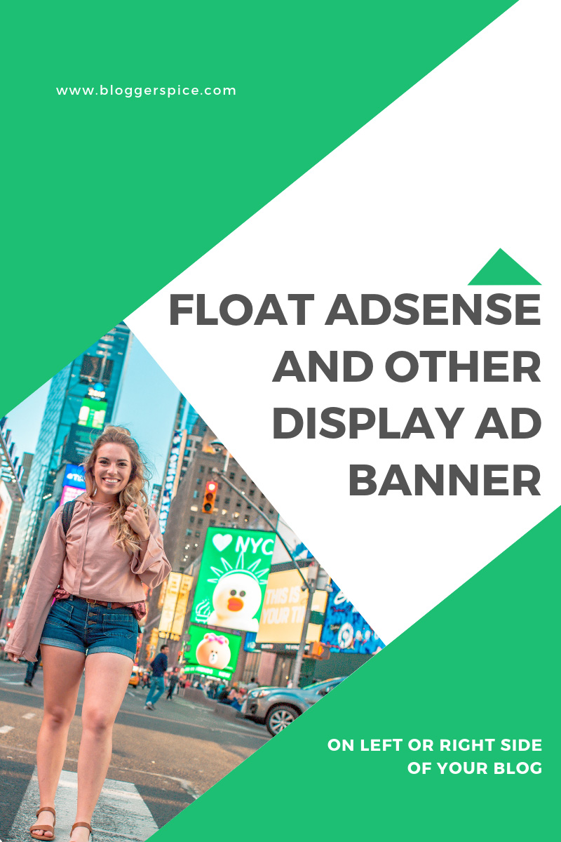 How to float an AdSense Ad to left or right?