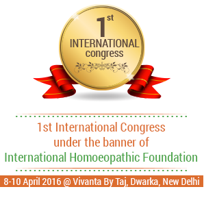 First International Homoeopathic Congress