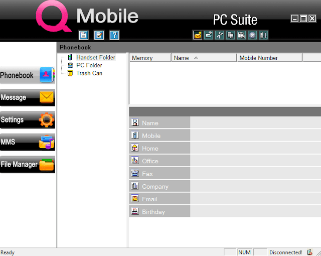 QMobile PC Suite Free Download and Connect your Mobile With Laptop and Personal Computer