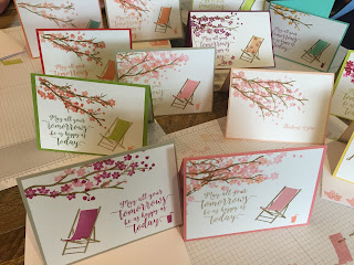 Coffee and Cards. Colourful Seasons cards