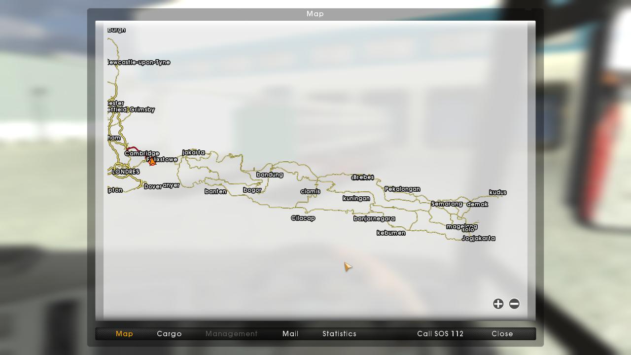 map icrf parahyangan ukts