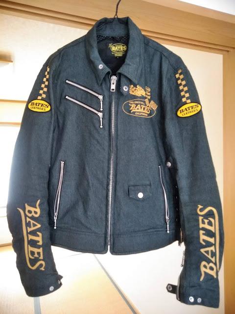 BATES ジャケットの写真