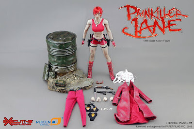 osw.zone Phicen Limited and Executive Replicas presented 1 / 6. Scale Painkiller Jane 12-inch action figure