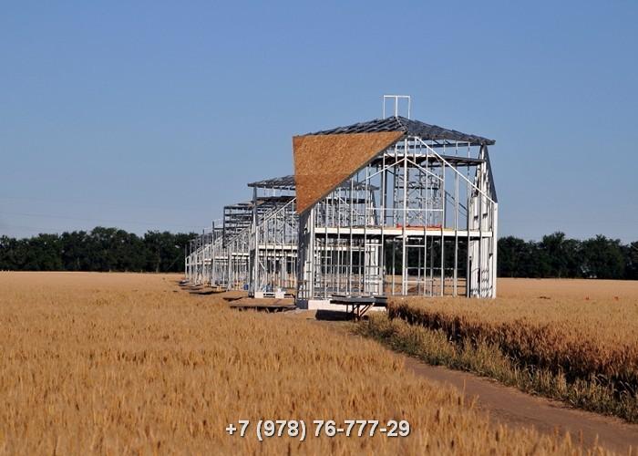 Проекты каркасных домов ЛСТК
