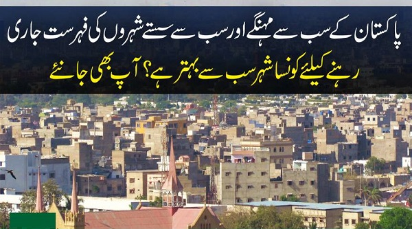 The Best and Worst Cities Of Pakistan 2017 Cheap Places To Live In
