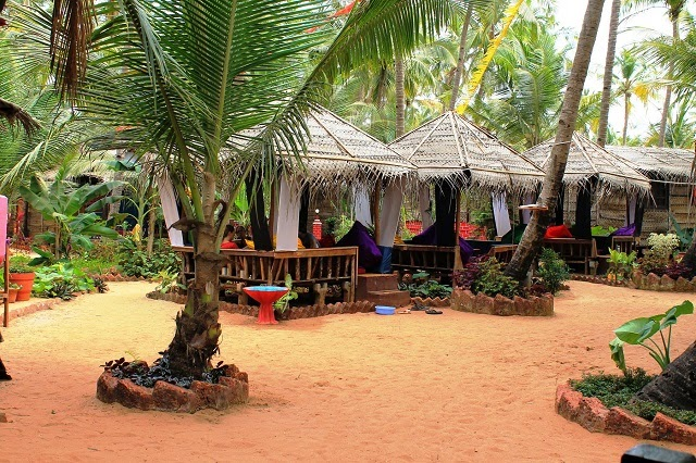 Simrose Agonda Luxury Beach Huts in Goa