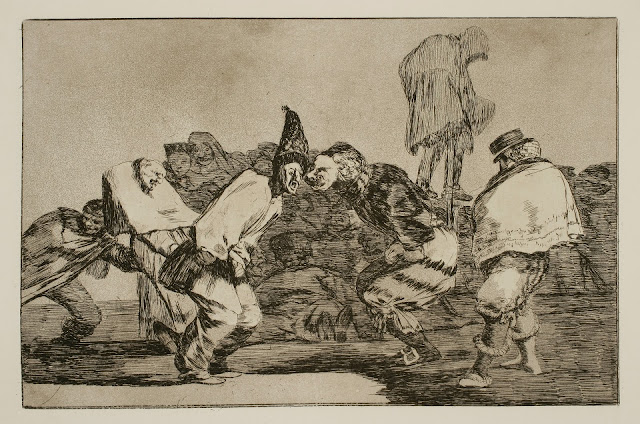 Francisco de Goya - Disparate de carnaval - 1815-19