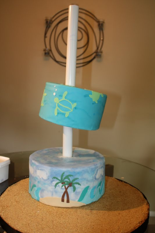 Sweet Eats Cakes: Topsy-Turvy Stand Tutorial Part 2