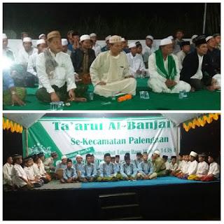 16 Grup Al-Banjari Meriahkan Perayaan Tahun Baru Hijriyah MWCNU Palengaan