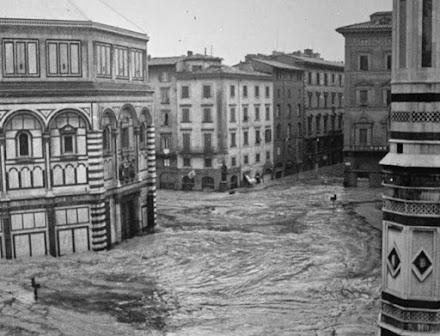 Ιταλία: 60 χρόνια από τις πλημμύρες στην Φλωρεντία (photos-video)