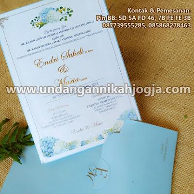 Undangan pernikahan exclusive SC Amplop