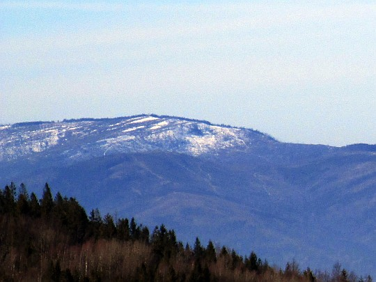Barania Góra (1220 m n.p.m.).