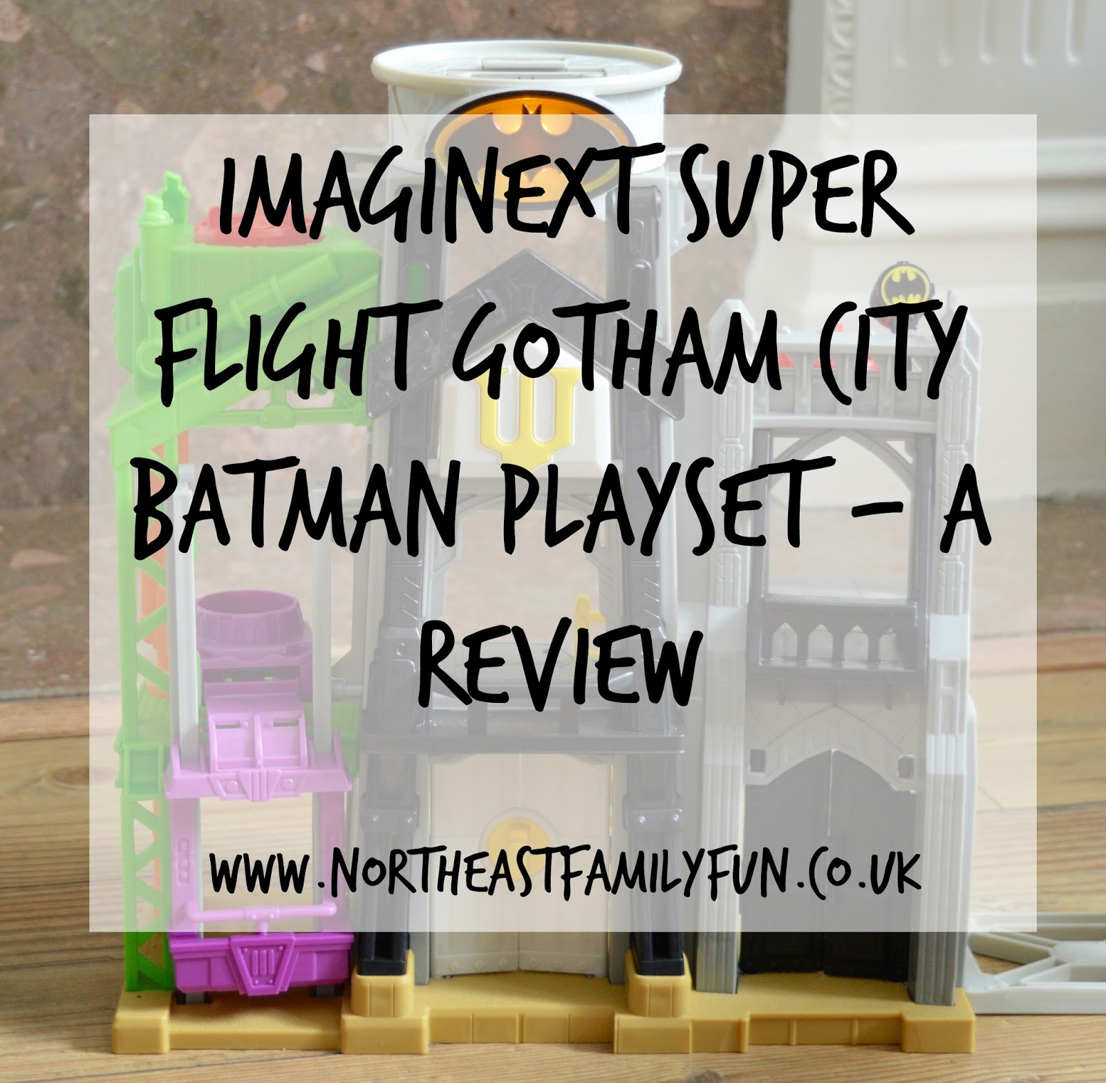 Fisher-Price Imaginext Super-Flight Gotham City | Batman Playset - A Review