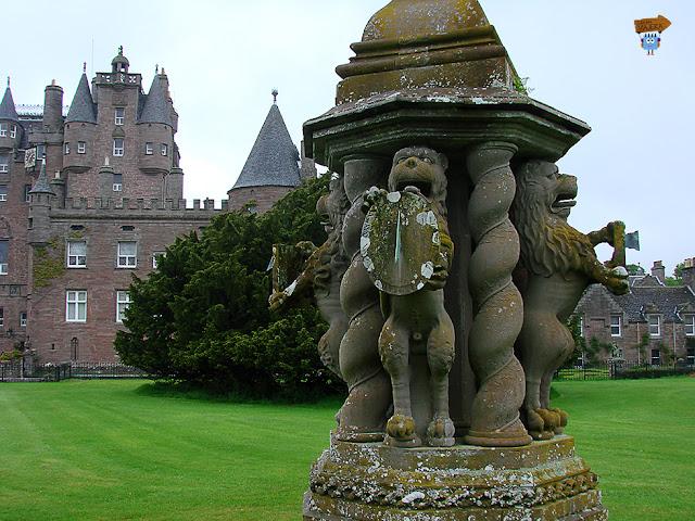 Jardines de Glamis Castle