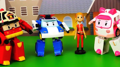 Robocar Poli cartoon