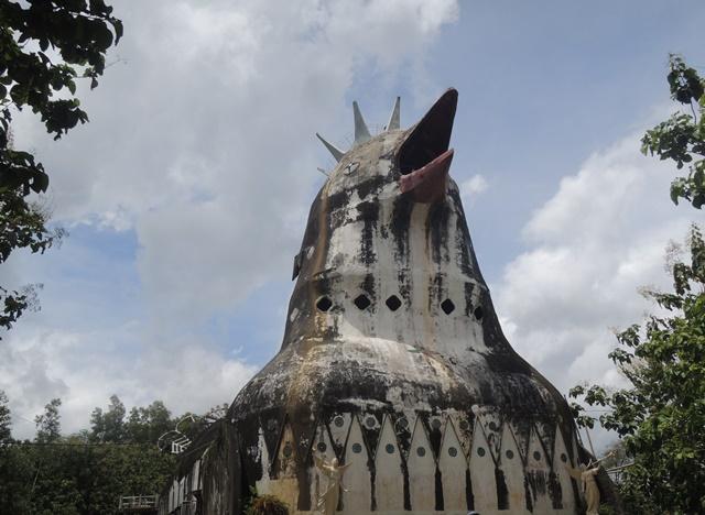 Jalan-jalan ke gereja ayam bukit rhema magelang, tempat syuting AADC 2