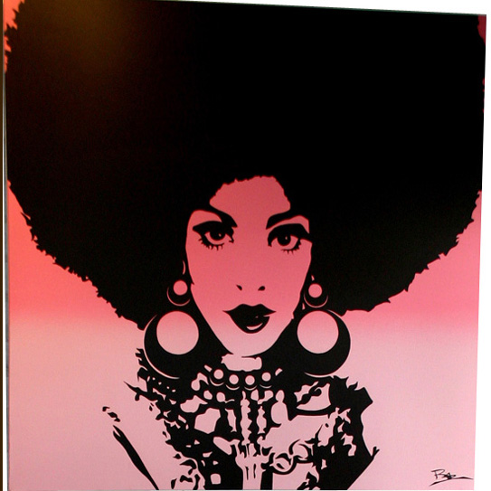 Posted by Stephanie Maria at 10 23 PMBlack Women Afro Art