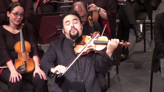 Violinista Alexis Cárdenas regresa al festival de música de Cartagena 2019.