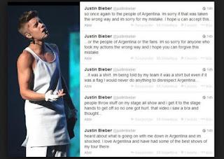 Justin Bieber Pide Respeto en Twitter