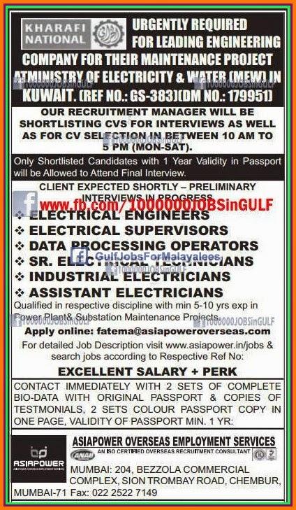 Al kharafi kuwait jobs