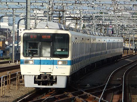 小田急電鉄 急行 相模大野行き 8000形