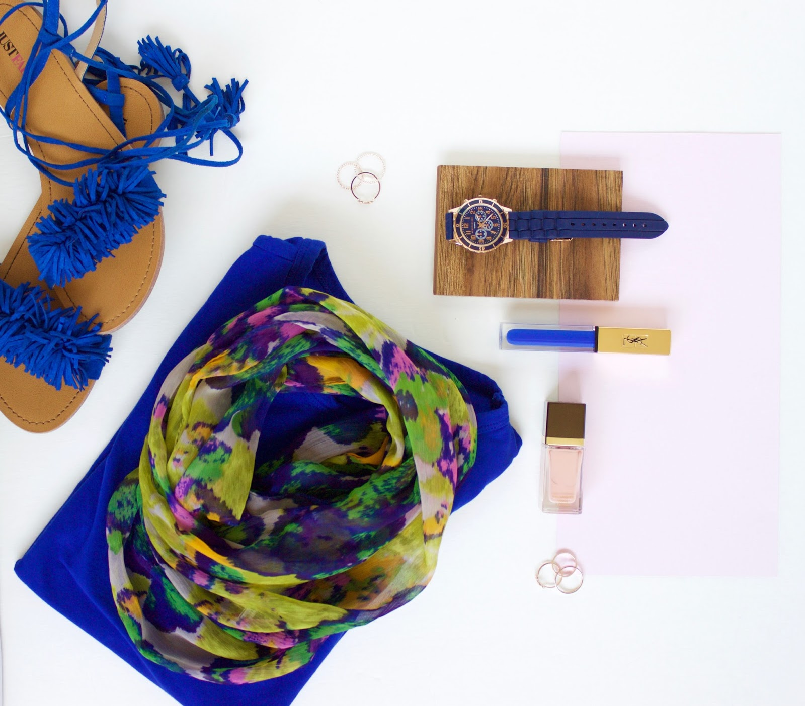 Summer Blues || Favorite Blue Fashion And Beauty Bits