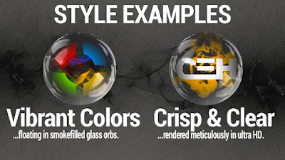 Smoke & Glass Icon Pack v33 Apk