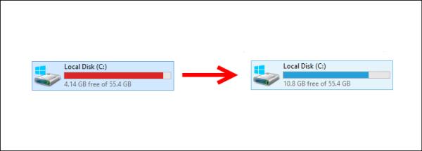 خاصية System Compression لتوفير مساحة في قرص الويندوز في ويندوز 10