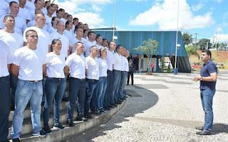 Guarda Municipal de Ponta Grossa (PR) inicia curso de formação para 96 novos recrutas
