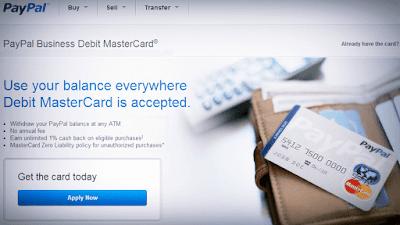 بايبال-ستوفر-بطاقة-لسحب-المال-عبر-ATMs