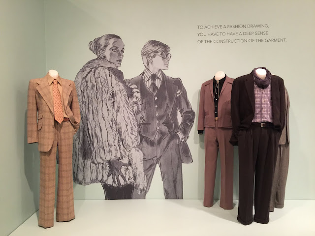 Vintage Menswear in the Jim Howard Fashion Exhibition