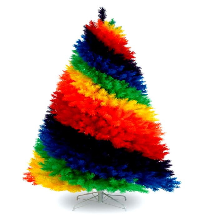 Rainbow Christmas Trees: HD IPhone & Cute Desktop Wallpapers: Christmas Beautiful