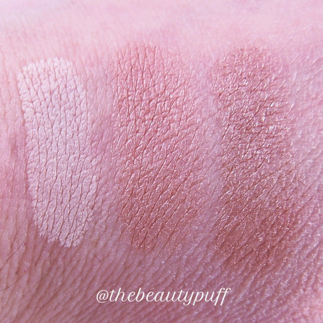 studio gear eyeshadow swatches vanilla camisole oyster dust - the beauty puff