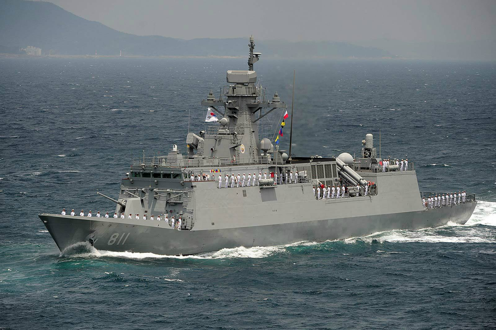 The Philippine Navys Future Frigate From Hyundai Discussing The