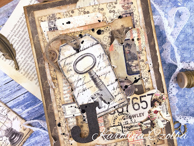 cardmaking retro vintage