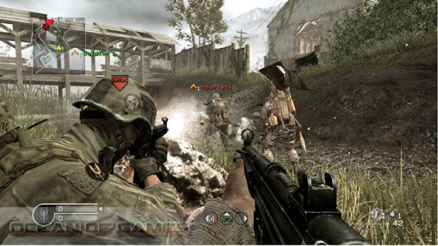 تحميل لعبه Call of Duty 4 Modern Warfare للكمبيوتر برابط واحد مباشر