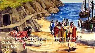 Resultado de imagen de ¿Era uno solo o dos gadarenos los que Jesús liberó?