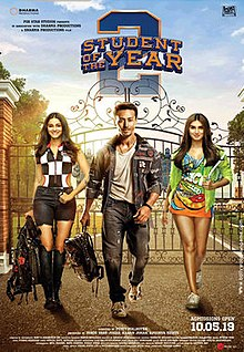 Download Student Of The Year 2 Full Movie In HD Mp4, 720p, 1080p, avi, flv