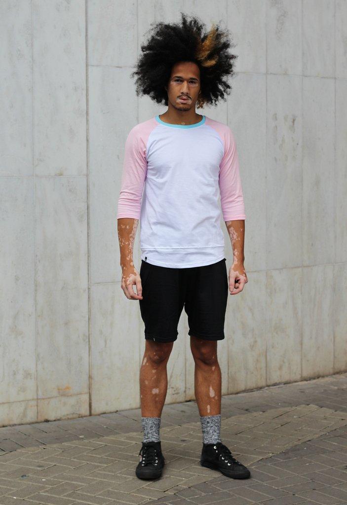 Camisa Raglan LGBT (TRANS)