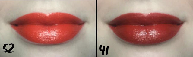 Make Up For Ever: Rouge Artist Intense Lipstick Lip Swatches