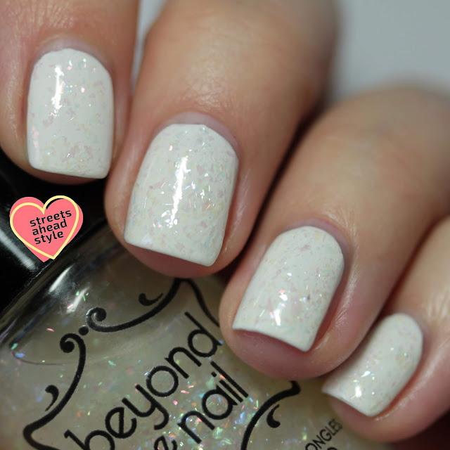 Beyond the Nail Lady in White swatch by Streets Ahead Style